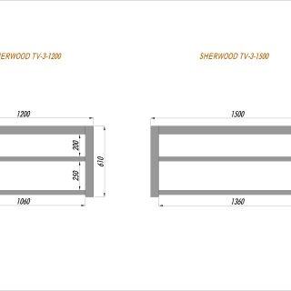 tv-table-sherwood-1200-1500mm-Model