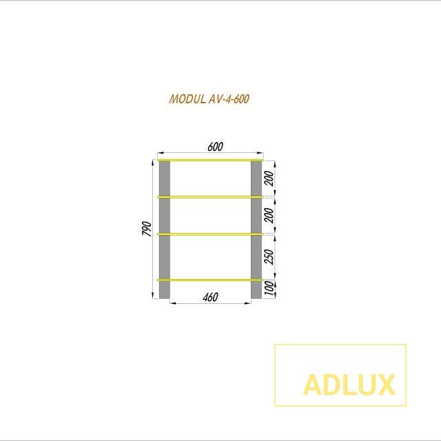 av-stand-modul av4-Model