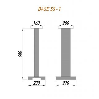 Стійка під акустику BASE SS-1